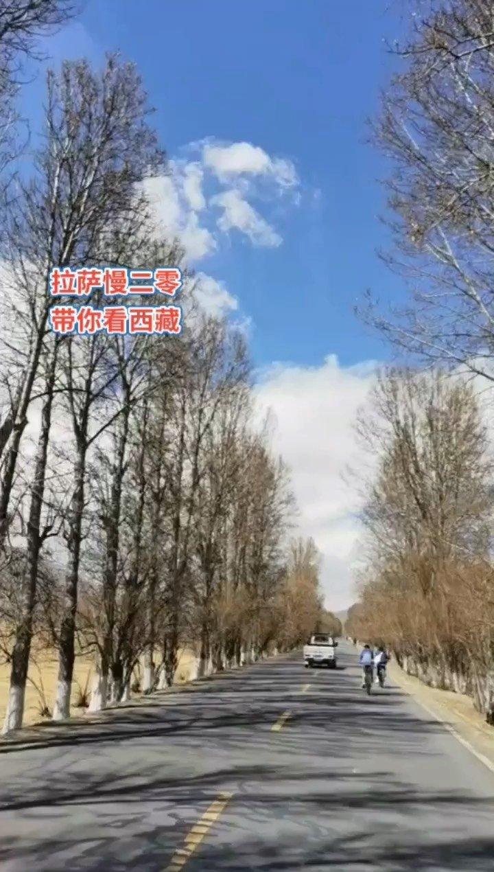 拉萨慢二零 带你看西藏! 拉萨林周骑行的安全保障,圆满结束,开心~ #西藏旅行 #拉萨骑行 #拉萨租自行车