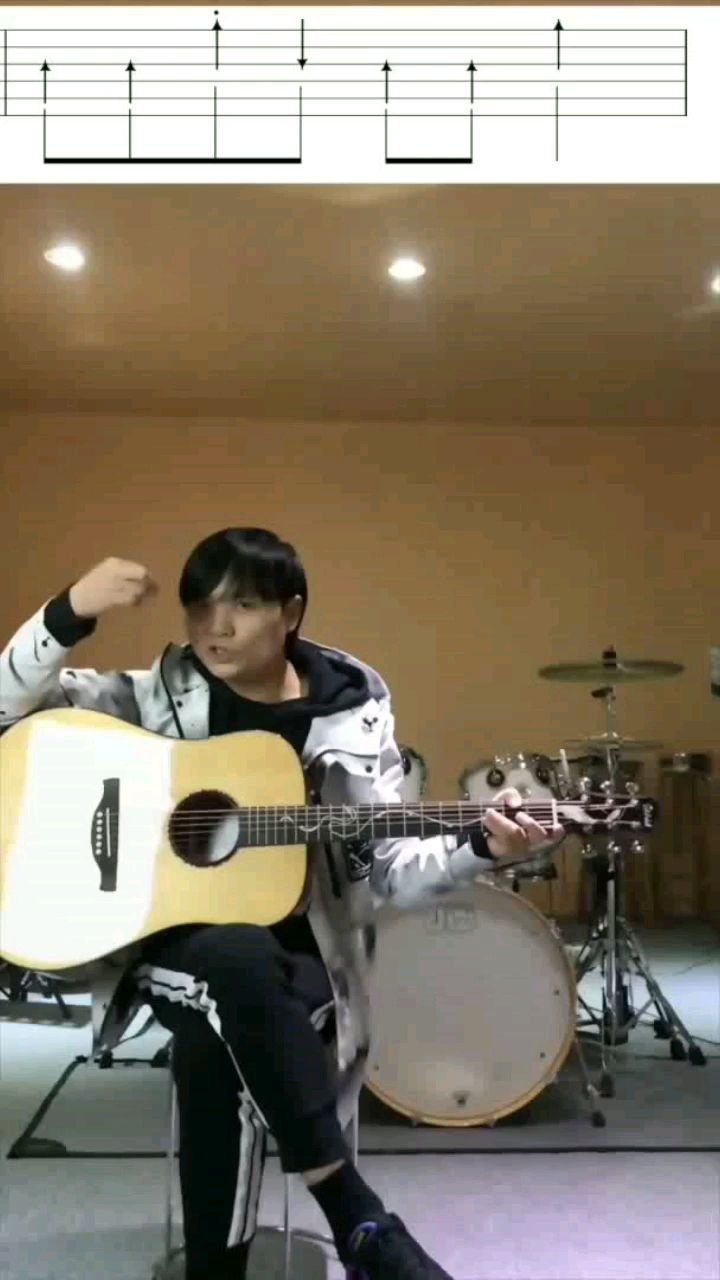 木吉他扫弦课第17节