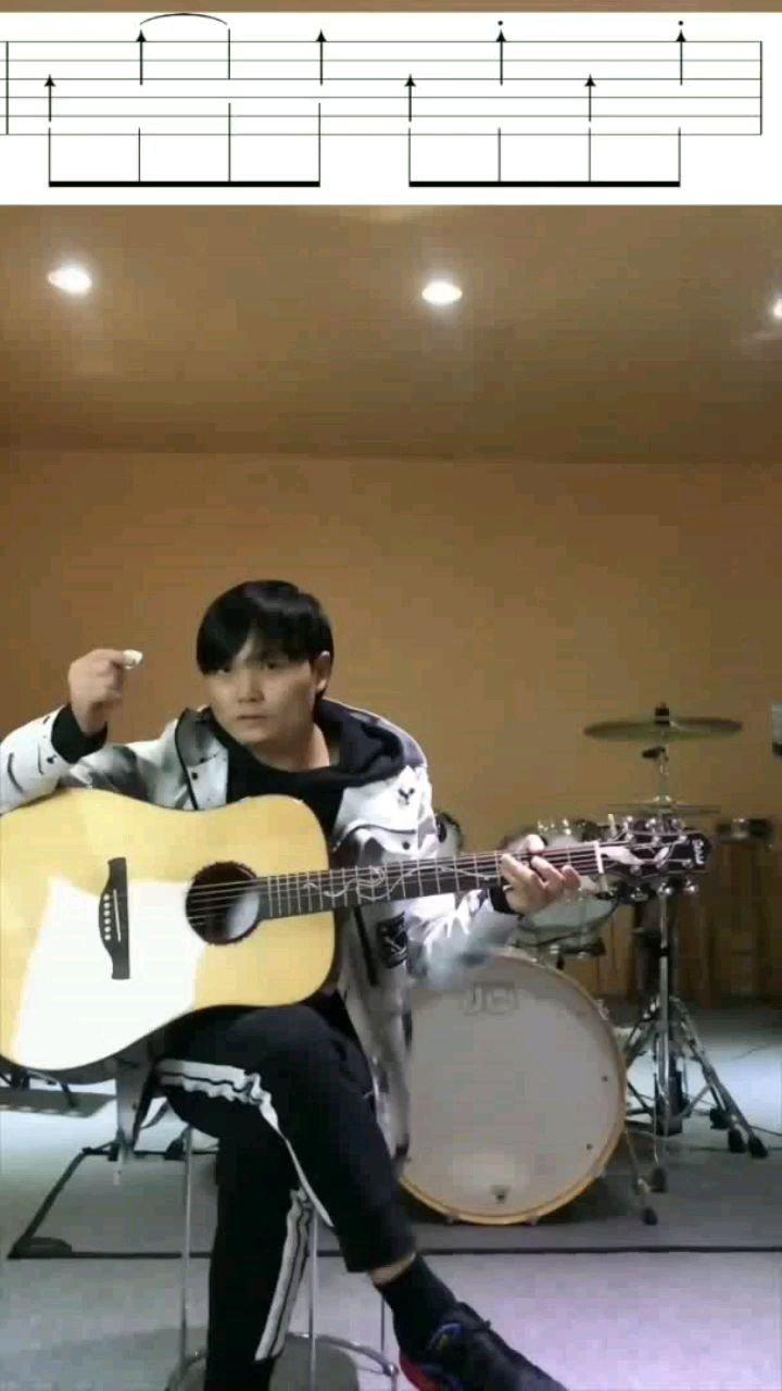 木吉他扫弦课第18节