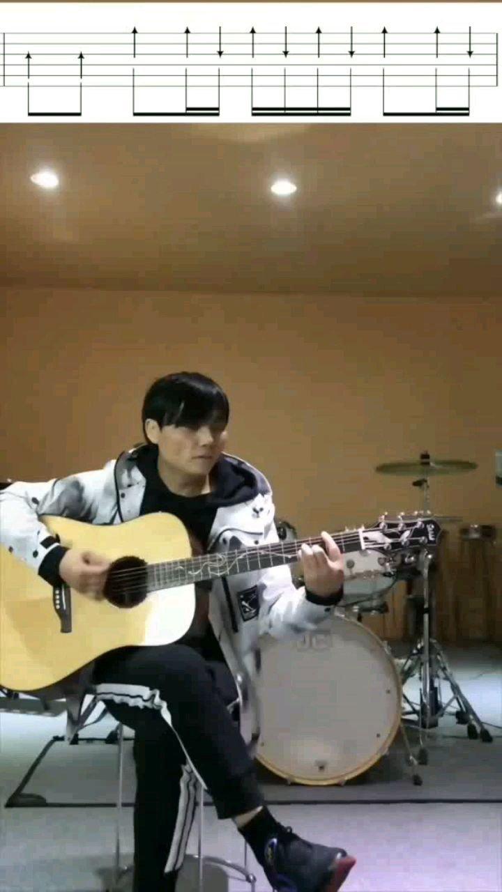 木吉他扫弦课第21节