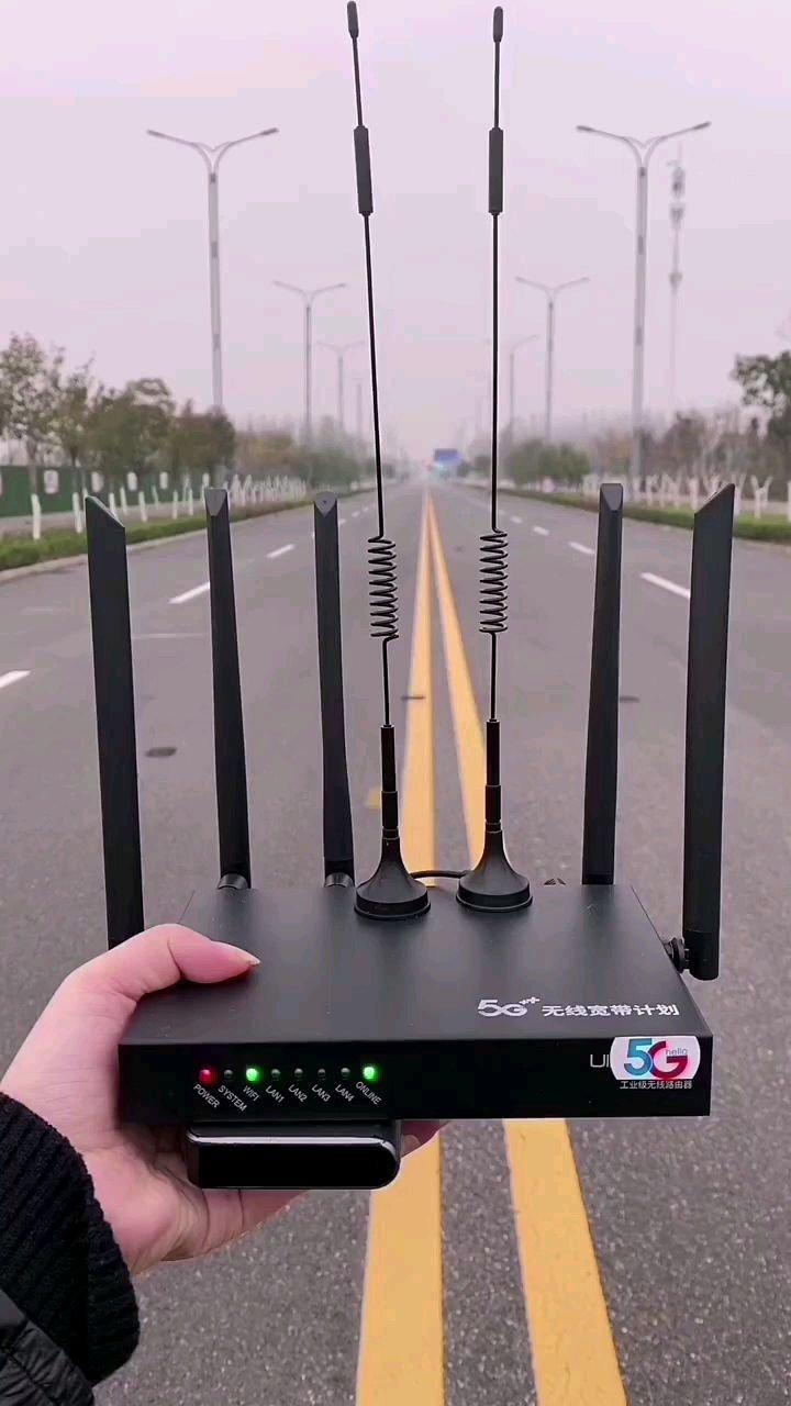 不插卡不拉线,有电就有网。