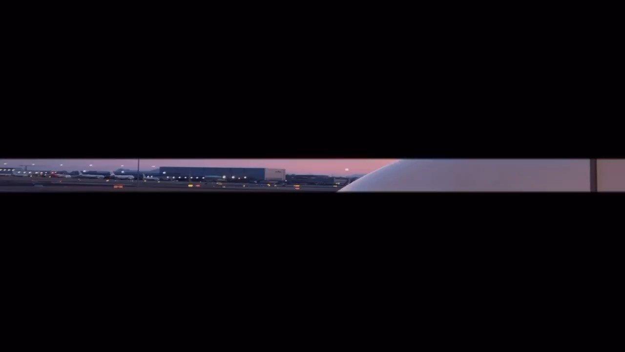 带你在停机坪看日出? @花椒头条