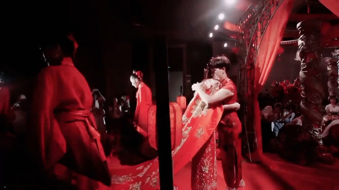 中式婚礼,仪式进入倒计时⌛⌛⌛⌛