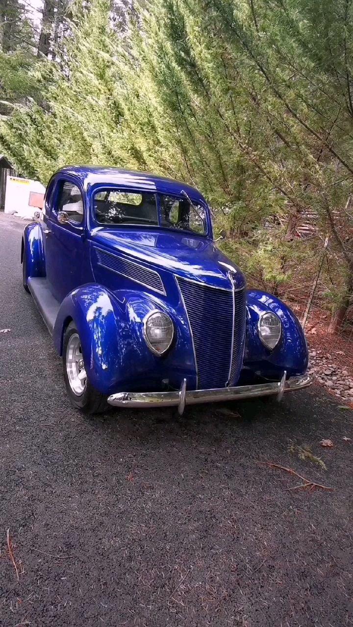 1937你福特coupe出去遛街~