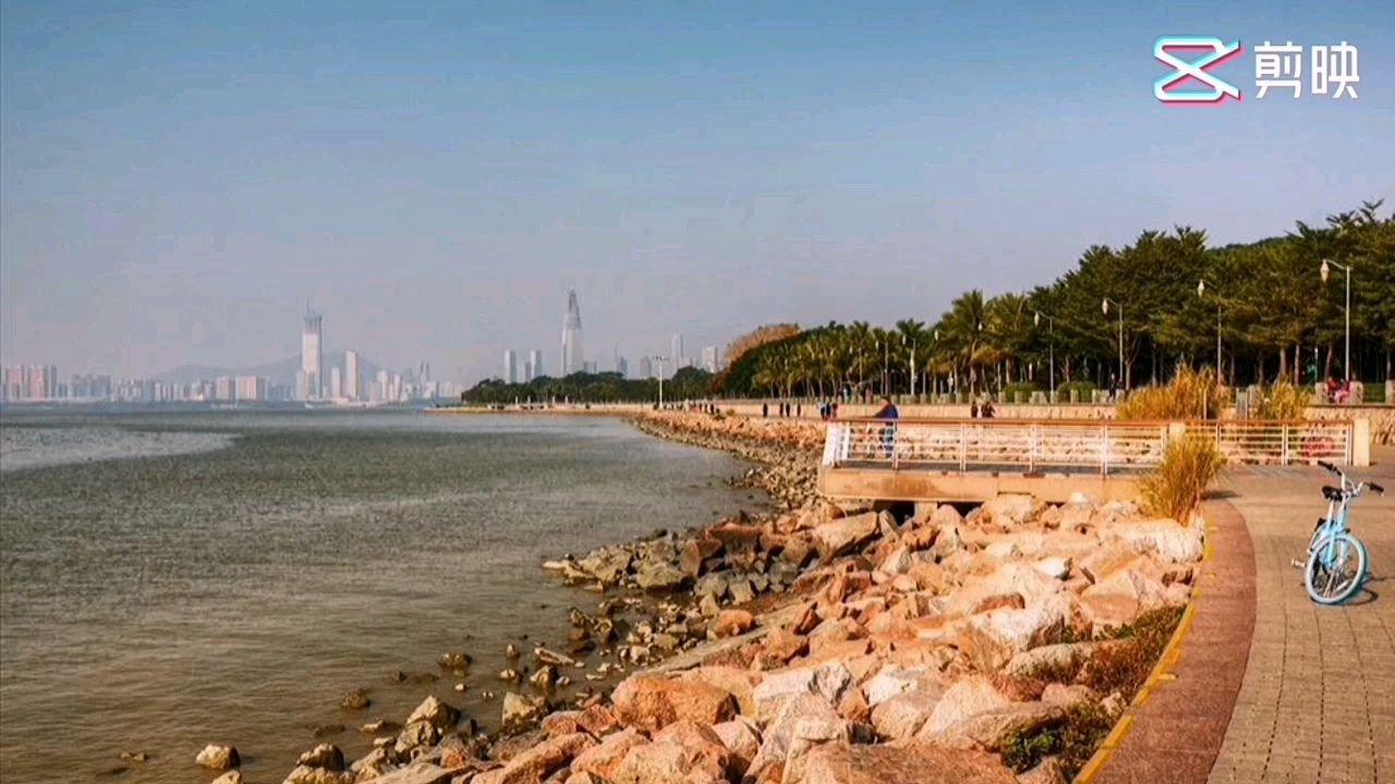 深圳湾公园的下午和傍晚,静静的呆了一下午,享受。???