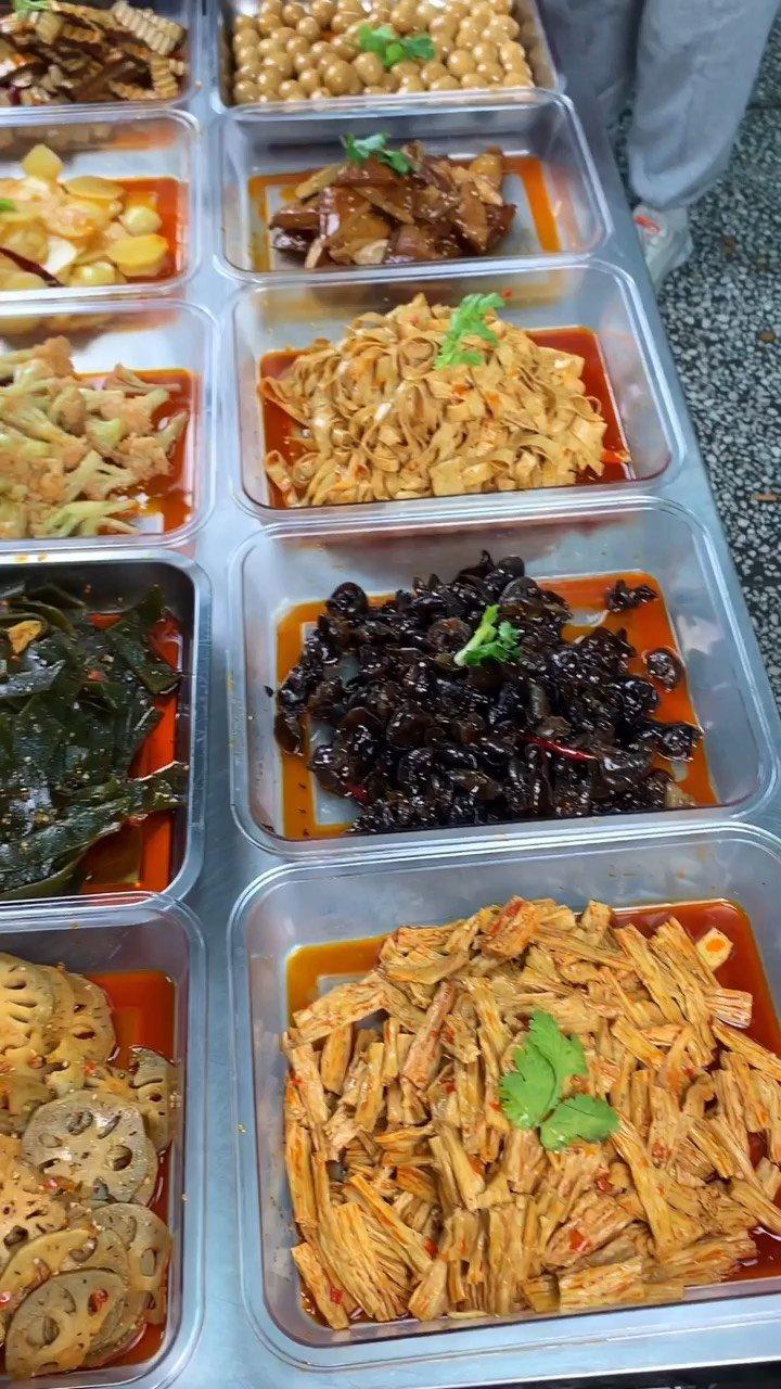 目前市面上深受大众喜欢的现捞素菜,成本低,易操作,自己在家就能做#美食 #美食教程
