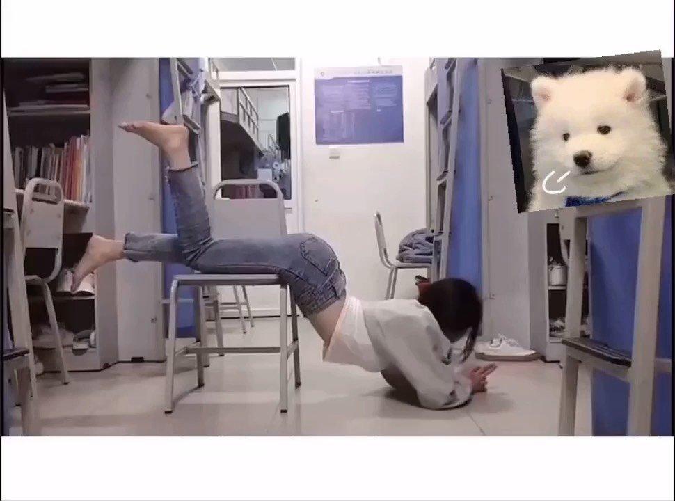 学校活动,请个假,不要太想我哟 寝室拍一波#3月你好 #花椒好舞蹈 #谁还没有大长腿了 #新人报道请多关照