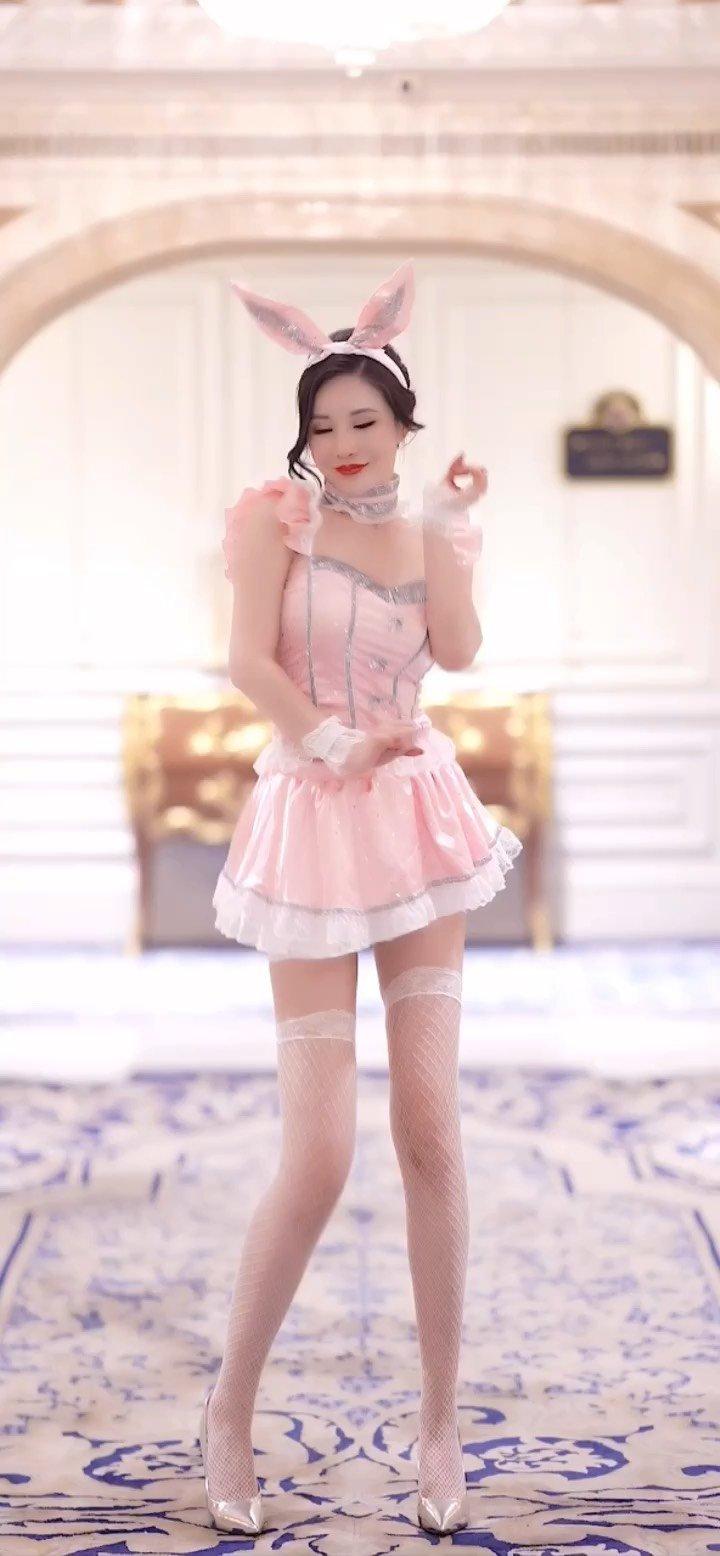 #花椒好舞蹈 小粉兔