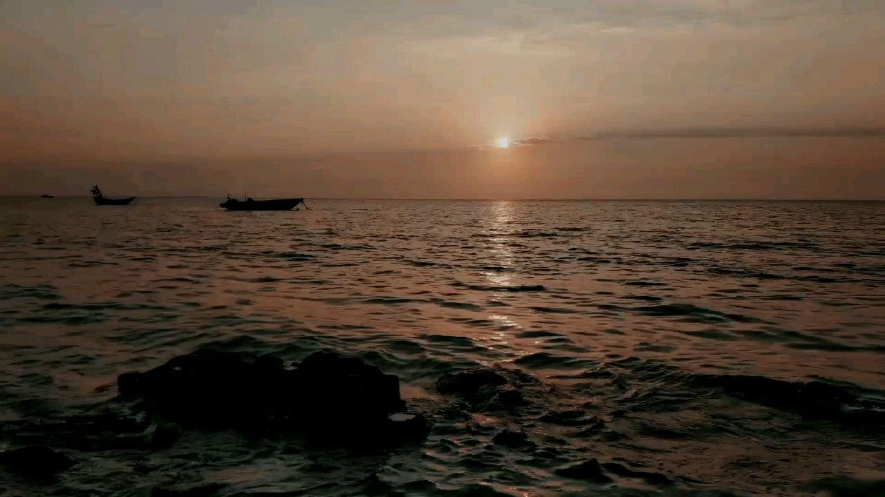 一个人 一片海 一叶扁舟#2月你好