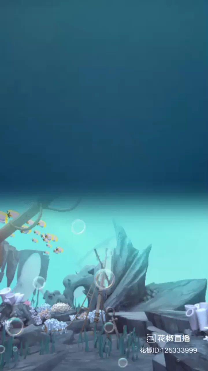 #我的新春礼物 真心的感谢你,我女神淽銆大美妞的又一个海底世界!????
