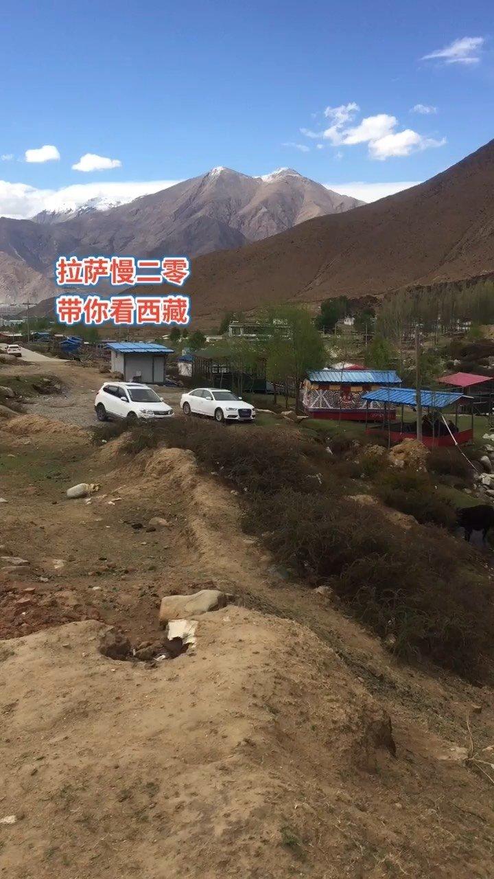 拉萨慢二零 带你看西藏! 雨水没有,这里也是过林卡的好地方,空了来休闲~#西藏旅行 #拉萨骑行 #拉萨租自行车