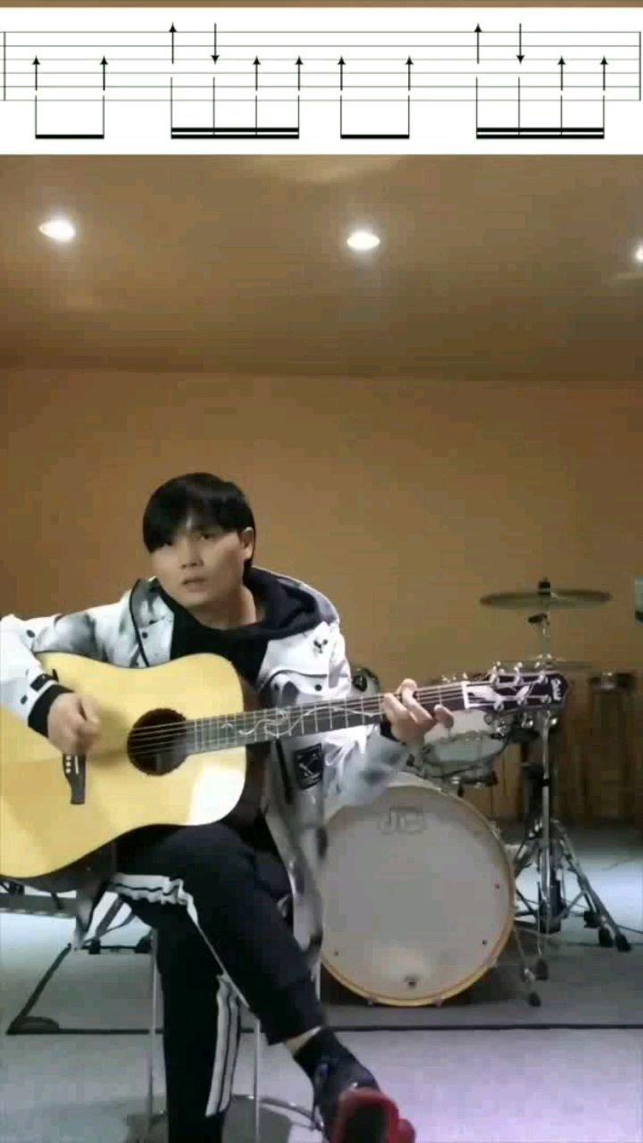 木吉他扫弦课第24节