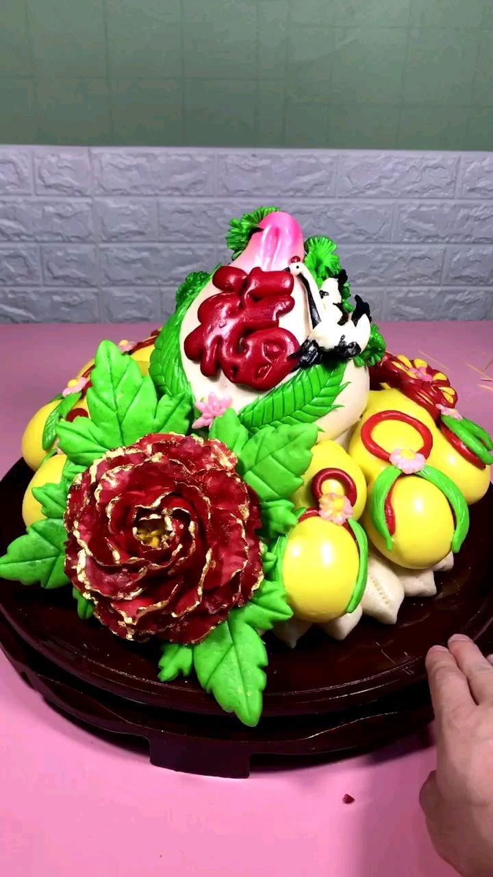 #中式蛋糕 不管干什么工作找到其中乐趣生活才会变得有意义...