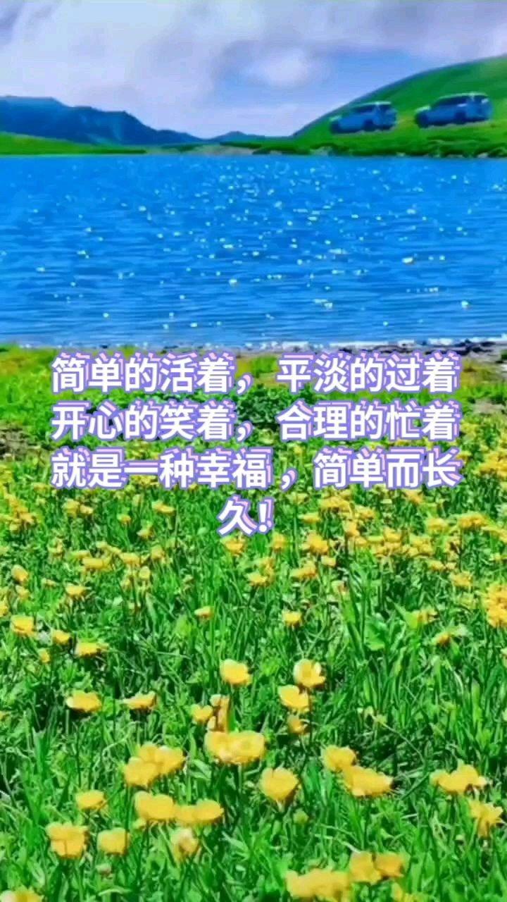 简单的活着, 平淡的过着 开心的笑着, 合理的忙着 就是一种幸福 ,简单而长久!