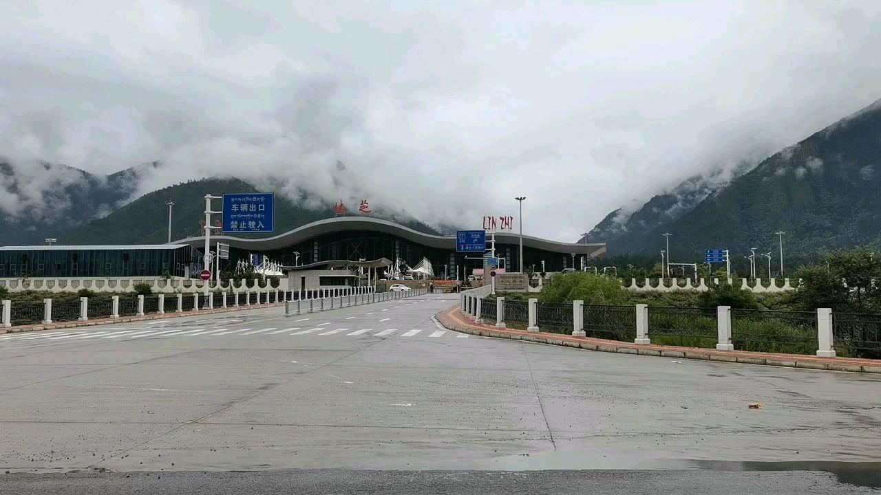 骑行中国 六进西藏之林芝 林芝机场#百年奋进京彩启航 #带上花椒去旅行