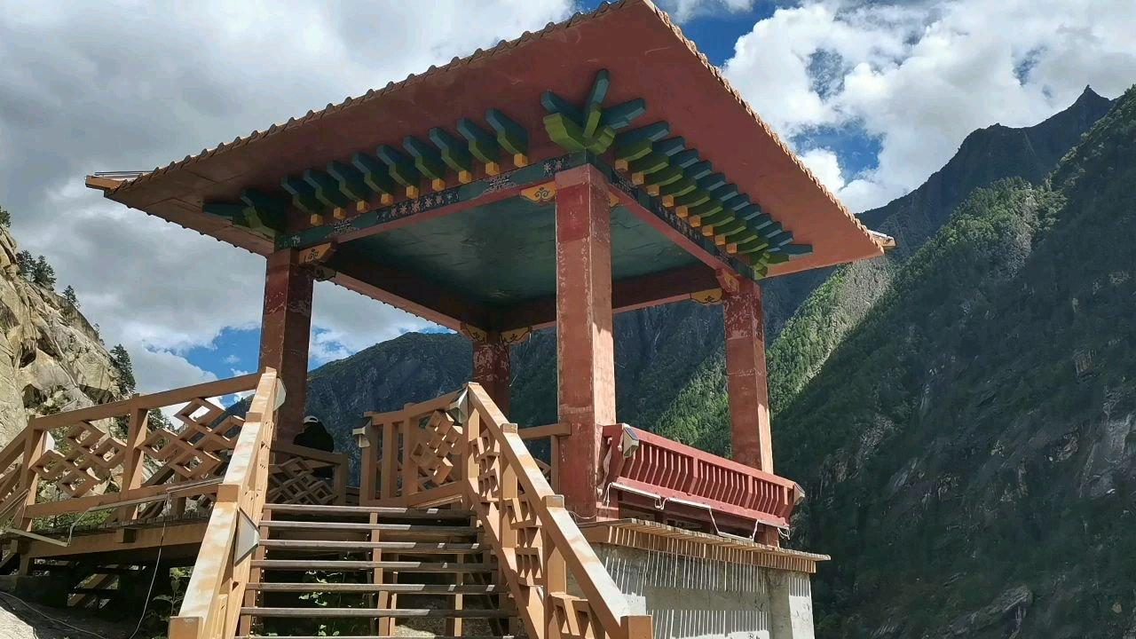 骑行中国 六进西藏之山南 亲猴台看猴子#九月你好 #带上花椒去旅行